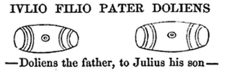 Drawing in Maitland 1848, 226.