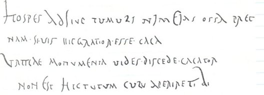 Picture via the Clauss / Slaby Epigraphic Datenbank