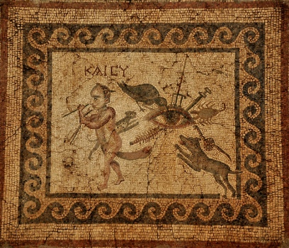 Mosaic from the House of the Evil Eye, Antioch, Syria.