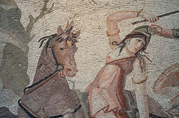 1600px-Detail_of_mosaic_emblema_with_Amazonomachy_scene,_Daphne,_a_suburb_of_Antioch-on-the-Orontes,_second_half_of_the_4th_century_AD,_Louvre_Museum_(22960900773)