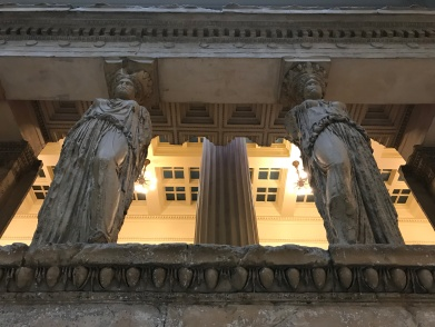 Caryatid Casts from the Carnegie Museum of Art.