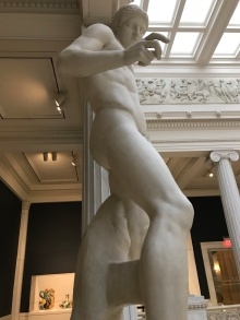 Casts from the Carnegie Museum of Art.