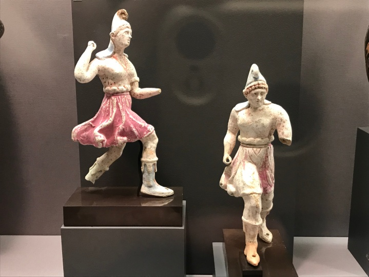 Charging Amazons from Canosa (300-280 BCE; Princeton University Art Museum).