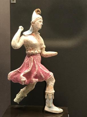 Charging Amazons from Canosa (300-280 BCE; Princeton University Art Museum).