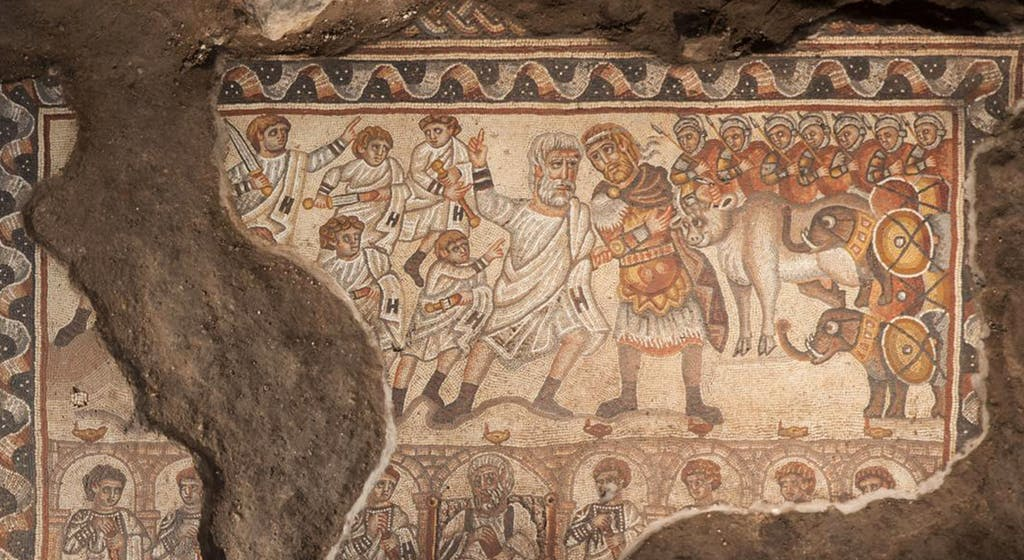 Alexander Mosaic, Huqoq
